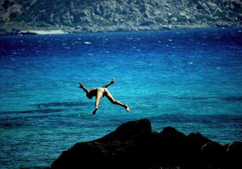 Κρήτη, βουτιά στην ελευθερία/ φωτό: Σπύρος Τσακίρης
